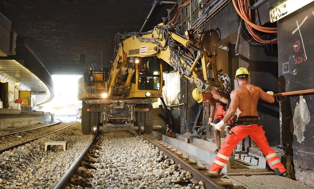 Die Sanierung machte schon 2016 eine mehrmonatige Sperre im Westen Wiens notwendig. Nun sind die Arbeiten in den Norden gewandert.