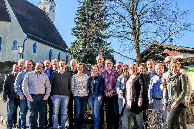 Die Teilnehmer der Tourismusklausur am 31. Jänner in Franking.