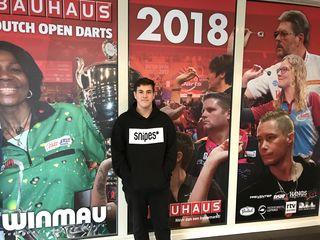 Ortner bei den Bauhaus Dutch Open 2018 Assen(NL)
