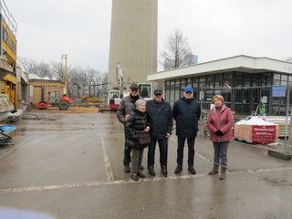 Die Anwohner des Kleingartenvereins Donaupark stellen sich gegen den Massenansturm von Touristen.