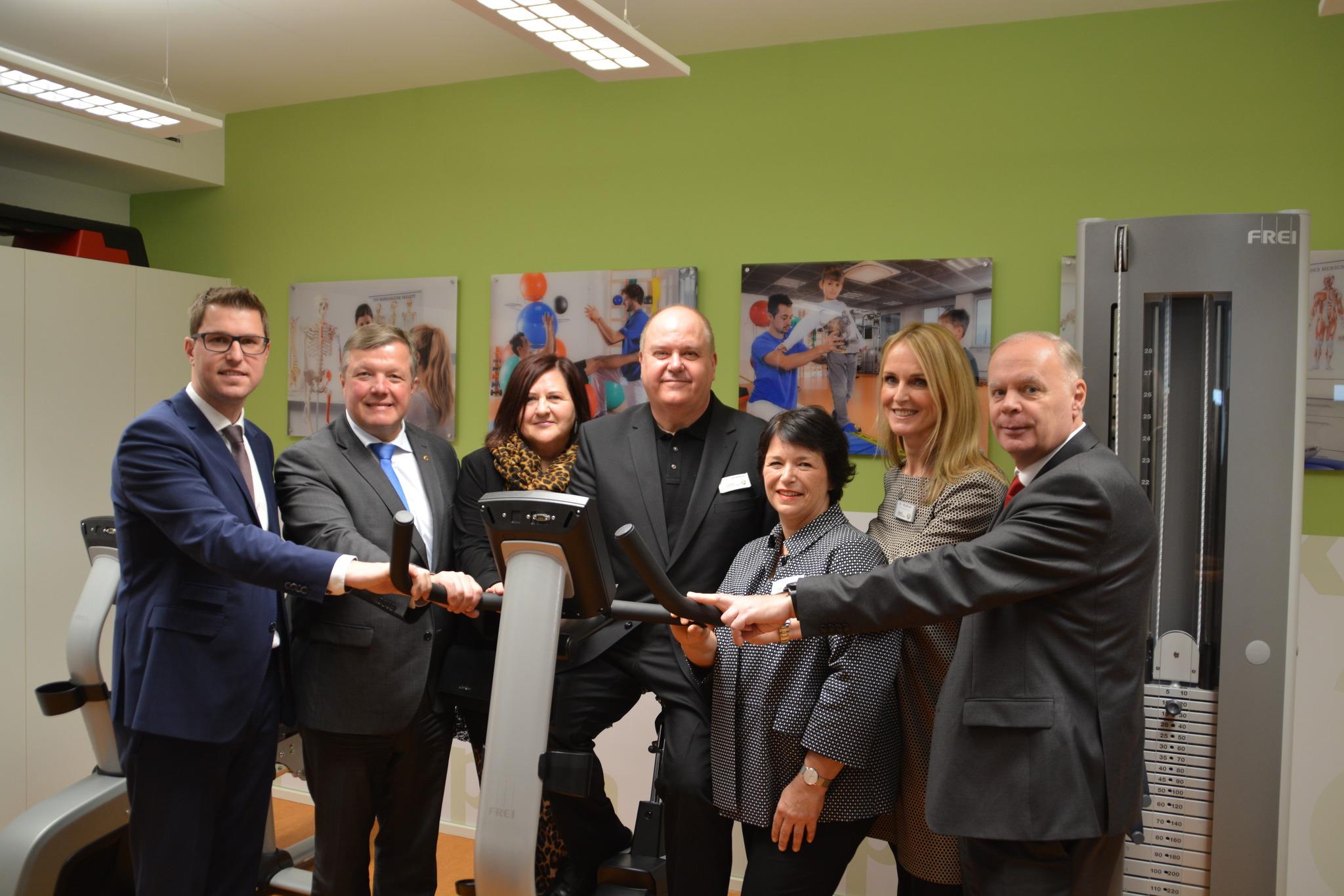 Neues Therapiezentrum Eröffnet Im Untergeschoss Des Telfer Bades Telfs