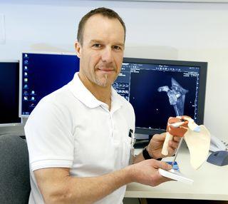 Jürgen Kleinrath, Schulterexperte an der Abteilung für Unfallchirurgie im LKH Kirchdorf.