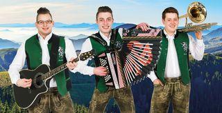 Das junge Trio: Martin Hofer, Martin Gerencser und Gernot Zöhrer (v.l.).