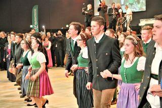 Landwirtschaftlichen Fachschulen, Eröffnung, Choreografie Willi Gabalier