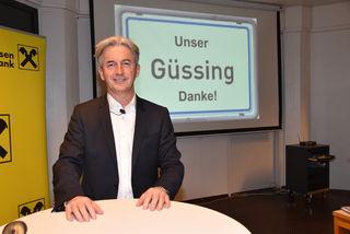ÖVP-Vizebürgermeister Alois Mondschein stellte seine Stadtentwicklungs-Ideen bei einer Informationsversammlung vor.