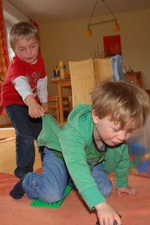 Gut untergebracht: im Kindergarten dürfen Kinder gemeinsam spielen und lernen.
