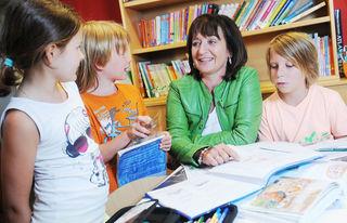 LR Beate Palfrader ist die Förderung der Lesekompetenz ein wichtiges Anliegen.
