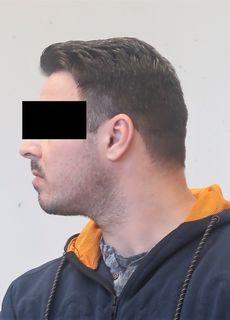 Marius Silvio M. (36) war der zweite Einbrecherganove.