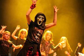 Nici Ramminger begeisterte mit einer beeindruckenden Horror Dance Show.