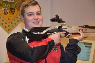 Hubert Naderer, 15, vom Schützenverein Pabneukirchen