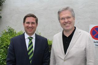 Bgm. Andreas Rabl (FPÖ) und LAbg. Peter Csar (ÖVP).
