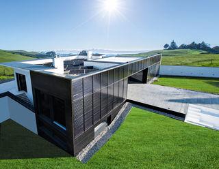 Das Sonnenhaus versorgt sich zur Gänze selbst mit erneuerbarer Energie.
