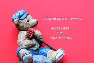 Alles Liebe und Gute zum Valentinstag!