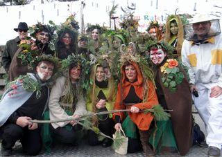 In Radenthein tummelten sich Waldgeister, Pilze und auch ein Imker