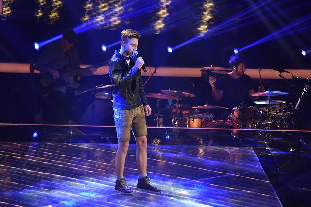 """Christian ist Teilnehmer der 6. Stafel von """"The Voice Kids"""". Er singt """"Mama"""" von Pizzera & Jaus."""
