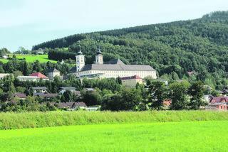Der neue Tourismusverband kann etwa mit seinen kulturellen Angeboten punkten (auf dem Foto: Stift Schlierbach).