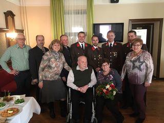 Albert Ehn feierte seinen 85. Geburtstag