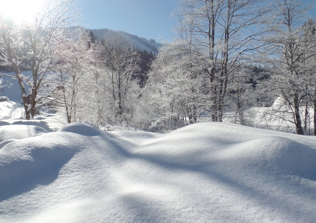Winterzauber bei Kernhof in Niederösterreich.