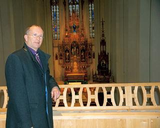 Pfarrer Andreas Jakober verzichtet in der Fastenzeit auf das Fernsehen, um mehr Zeit für sich zu gewinnen.