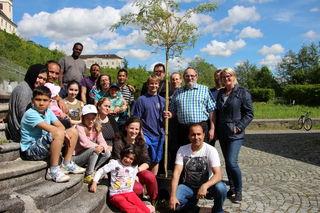 Die Gärtner des Vereins Gemeinschaftsgarten freuen sich auf Verstärkung