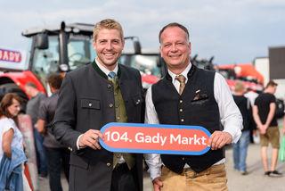 Freuen sich auf Ihren Besuch: Philipp Gady und Eugen Roth.