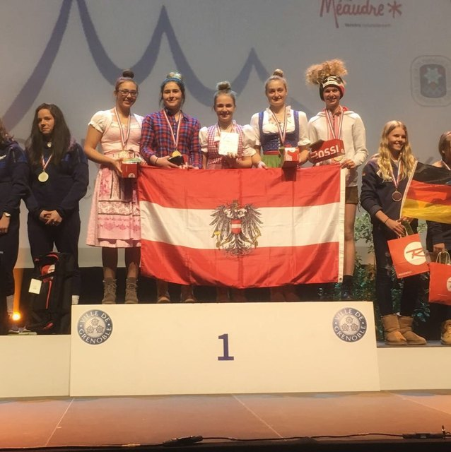 Christina Pichler, Karlina Lace, Lara Fletzberger, Kathrin Stock und Patricia Leeb.