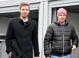 Die beiden Geschäftsführer Alexander Bergkessel und Harald Schmidt