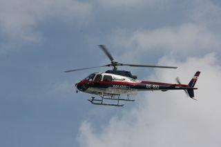 Ein Hubschrauber des Innenministeriums konnte die Sportler ausfindig machen und bergen (SYMBOLBILD).