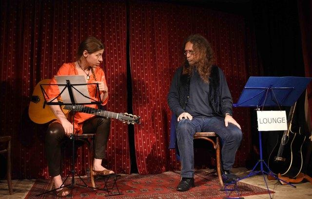 Text und Musik - Katie Kern & Andre Blau Foto:  Regina Adler