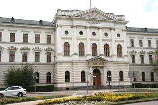 Verhandlung am Landesgericht Wiener Neustadt.