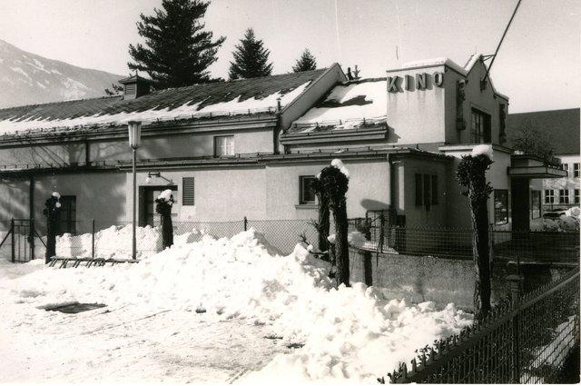 """Das """"Ton-Kino"""" in der 10.-Oktober-Straße in Spittal bestand bis in die 70er Jahre"""