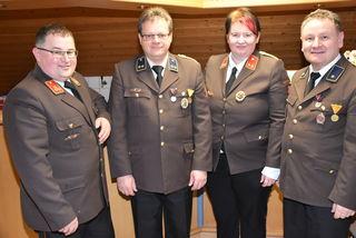 Das neue Kommando der FF Riedersdorf