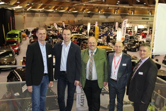 Der Vorstand von links: Thomas Sühs, Bernhard Aumayr, Franz Kastler, Martin Katterbauer und Gerald Reindl.