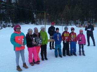 Die Kindersieger des Biathlon