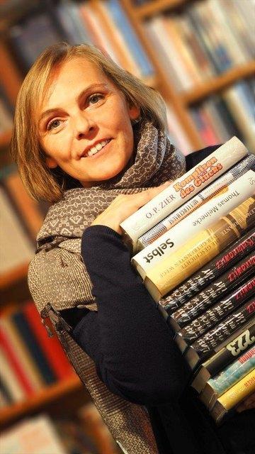 Brigitte Fragner betreibt eine Buchhandlung in Wieselburg.