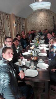 Im Café Classico vernetzten sich Jungunternehmer
