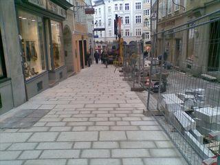 In der Linzergasse wird wieder gebaut