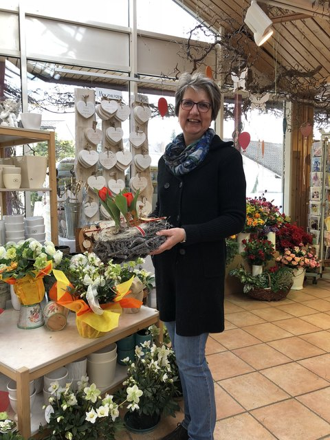 Tulpen haben bereits wieder Saison, weiß Brigitte Lechner.