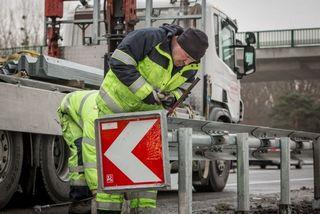 Die Mitarbeiter der Firma Franz Esletzbichler e.U. mit Sitz in Lunz am See sind rund um die Uhr für die Verkehrssicherheit im Einsatz.