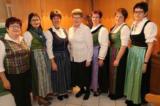 Die Erlauftaler Goldhaubengruppe lud zu ihrer Jahreshauptversammlung im Gasthof Kutscherhof in Purgstall an der Erlauf.