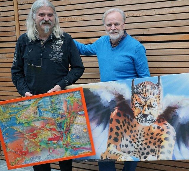 Foto c Alexander Wieser (links: Hermann Holzner, rechts: Dietmar Pickering)