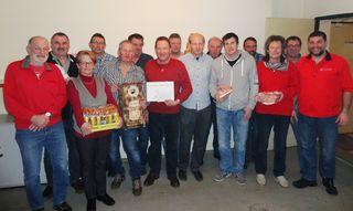 Das 18. Sauschnapsen der Sportunion wurde in Randegg ausgetragen.