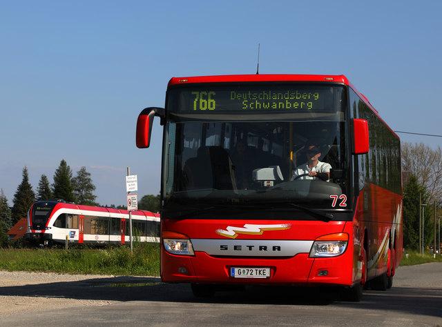 Die Busse der GKB fahren ab 26. Februar verdichtet zwischen Graz und dem Bezirk Voitsberg.