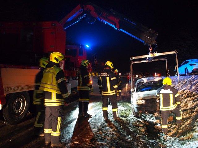 Die Feuerwehrmitglieder befanden sich zufällig in der Nähe.