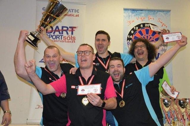 Die ASP Sportlandshooters freuten sich über den Triumph bei der Sportmesse in Wels.