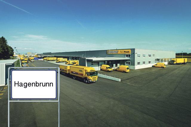 Die Entscheidung ist gefallen: Das Post-Logistikzentrum wird im Hagenbrunner Industriegebiet errichtet.