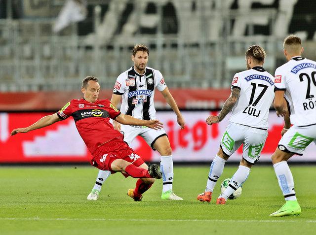 Am 17. März trifft Sturm Graz in der Merkur Arena Graz auf den SCR Altach.