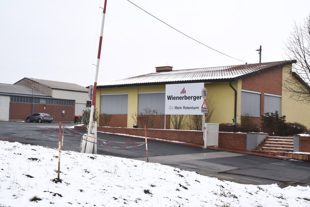 22 Mitarbeiter verlieren nach der Schließung des Wienerberger-Werkes in Rotenturm und Fürstenfeld ihren Arbeitsplatz.