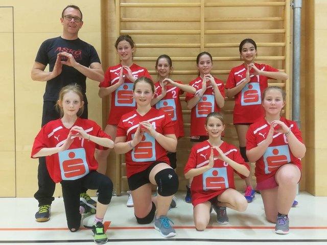 Coach Stefan Franke ist stolz auf seine Volleyball-Girls.