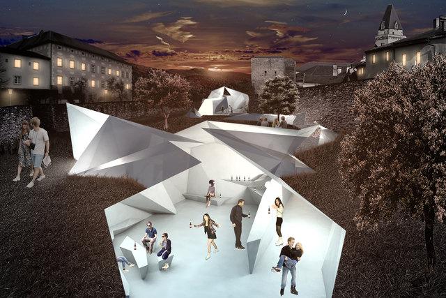Ein moderner Eislaufplatz im Stadtgraben – eine von 16 kreativen Gestaltungsideen für den öffentlichen Raum in Freistadt.